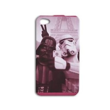 Funny Star Wars Darth Vader Selfie Phone Case iPhone iPod Movie Paris France Fun