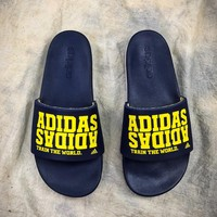 Adidas Benassi Swoosh Sandals Style #3 Casual Slippers - Best Online Sale