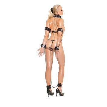 Elegant Moments Leather And Chain Restraints