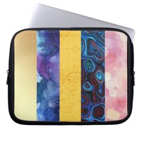 multiple digital textures laptop sleeve | Zazzle.co.uk