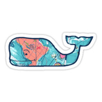 Vineyard Vines Whale Lilly Print 2 by Csturges07