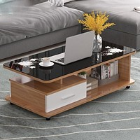 Modern Style Well Crafted Built Coffee Table