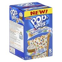 Kellogg's Pop-Tarts Frosted Confetti Cupcake Pastries 8 ct