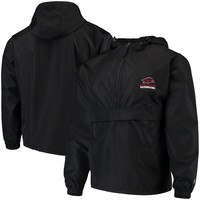 Men's Champion Black Arkansas Razorbacks Packable Jacket