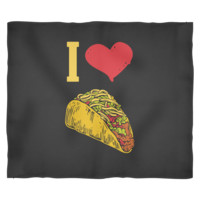 Taco Blanket by Living You Co. | I love Tacos Blanket, Taco Fleece Blanket, I Love Tacos