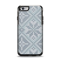 The Knitted Snowflake Fabric Pattern Apple iPhone 6 Otterbox Symmetry Case Skin Set
