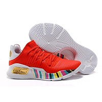 Under Armour SC30 Stephen Curry 4 Low Chinese Red Sport Sneaker