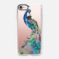 Elegant Peacock iPhone 7 Case by Carla James | Casetify