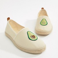 Kaltur Avocado Espadrilles at asos.com