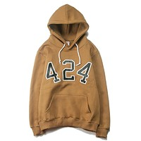 Trendsetter 424 On Fairfax Women Men Fashion Casual Top Sweater Pullover Hoodie