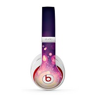The Dark Purple with Desending Lightdrops Skin for the Beats by Dre Studio (2013+ Version) Headphones