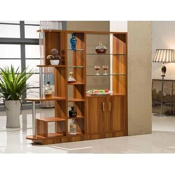 Multi-Purpose Functional Wooden Cabinet