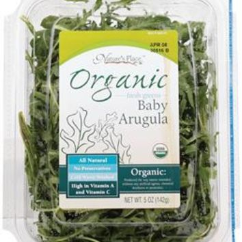 Nature's Place Organic Baby Arugula | 5 Oz. | Lettuce, Greens & Salad