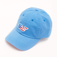 Shop Flag Whale Patch Twill Hat at vineyard vines