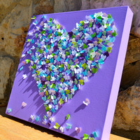 3D Butterfly Wall Art -  CUSTOM MADE to Match Your Child's Bedding - Choose Your Color Scheme / Nursery /Girl's Room - Made to Order