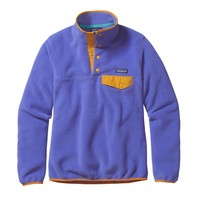 Patagonia Women's Lightweight Synchilla® Snap-T® Pullover | Violet Blue