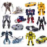 2017 1PCS Transformation Kids Classic Robot Cars Toys For Children Action & Toy Figures  free shipping