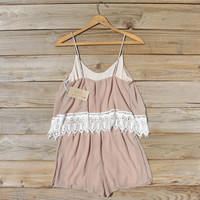 Sienna Lace Romper