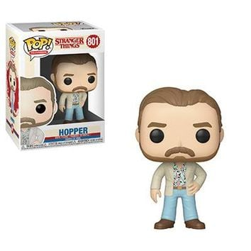 Date Night Hopper Funko Pop! Television Stranger Things