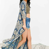 Cleobella Zane Duster Jacket- Blue Multi