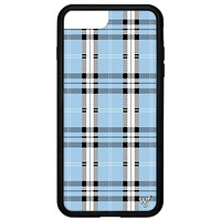 Plaid iPhone 6+/7+/8+ Plus Case | Blue