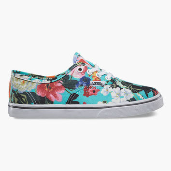 Vans Authentic Lo Pro Girls Shoes Smoked Pearl/True White  In Sizes