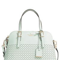 Kate Spade New York 'Milton Lane - Maise' Perforated Leather Satchel