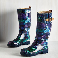 Puddle Jumper Rain Boot in Watercolor by ModCloth