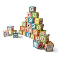 UNCLE GOOSE LOWERCASE ABC BLOCKS