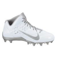 Nike Speedlax 4 Lacrosse Cleats - White/Silver | Lacrosse Unlimited