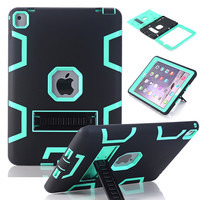 """WeFor Case For iPad Pro 9.7""""/12.9"""" Cover High Impact Resistant Hybrid Three Layer Heavy Duty Armor Defender Full Body Protector"""