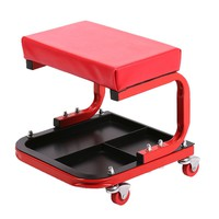 200Rolling Mechanic Seat Stool Chair Tray Repair Tools Shop Auto Car Garage SP36