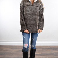 You're My Favorite ~ Sherpa Pullover