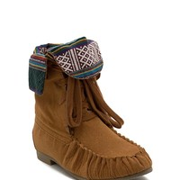 Starcy 40 Tribal Cuff Moccasin Boot