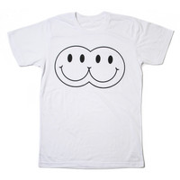 Twins T-Shirt (White)   Burger And Friends