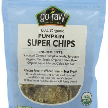 Go Raw Freeland Super Chips, Pumpkin, 3-Ounce Bags (Pack of 6)