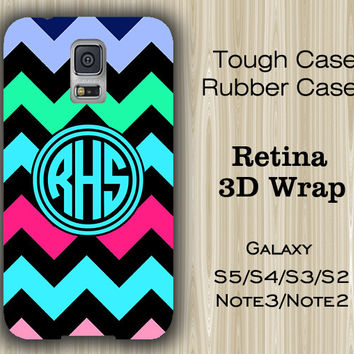 Zigzag Chevron Monogram Samsung Galaxy S5/S4/S3/Note 3/Note 2 Case