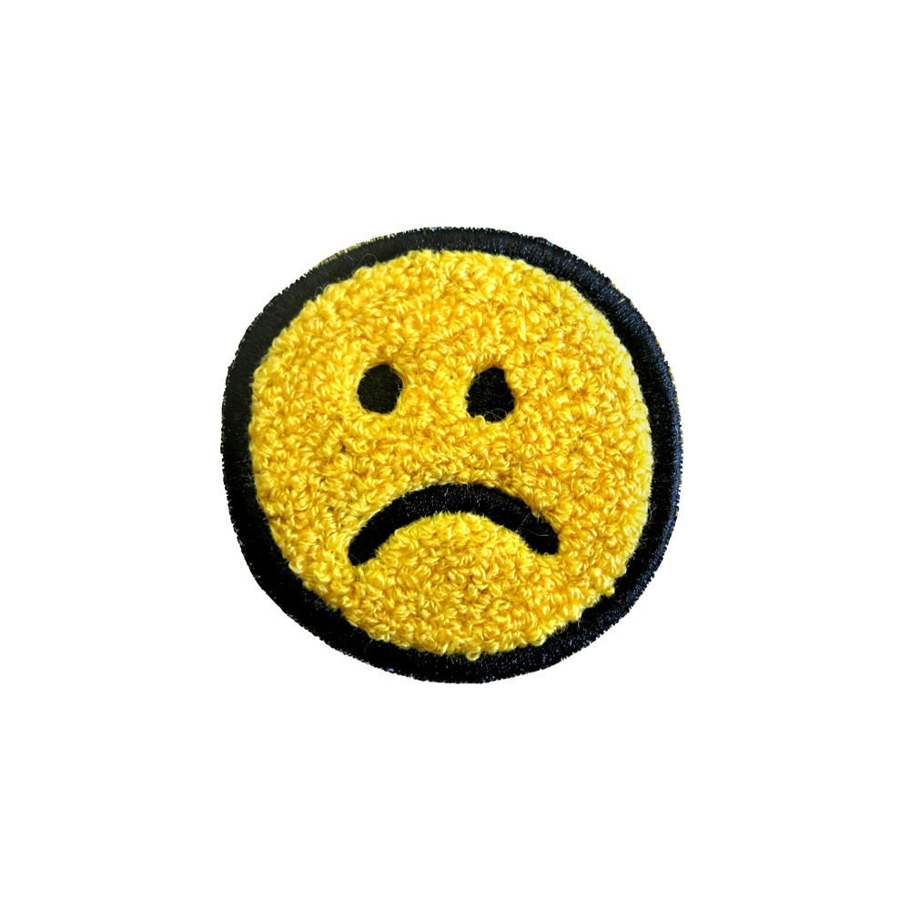 Image of Frown Chenille Patch