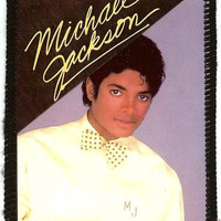 Michael Jackson Sew On Patch Bow Tie Photo