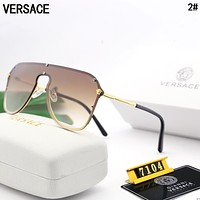 VERSACE Women Men Fashion Popular Summer Sun Shades Eyeglasses Glasses Sunglasses 2#