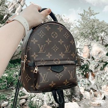 Louis Vuitton LV Monogram Canvas Shoulder Bag Backpack