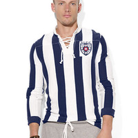 Polo Ralph Lauren Custom-Fit Lace-Up Rugby Shirt