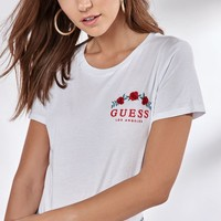 Guess Short Sleeve Cropped T-Shirt at PacSun.com
