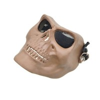 Death Skull Bone Army Airsoft Paintball Full Face Game Protect Mask for Airsoft Hunting Wargame and All Military Purpose