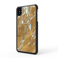 Galaxy Gold Marble iPhone Case