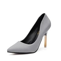 Pumps Summer Shoes Shallow Pointed Toe High- Heeled Shoes Thin Heels Women's High-Heeled Shoes