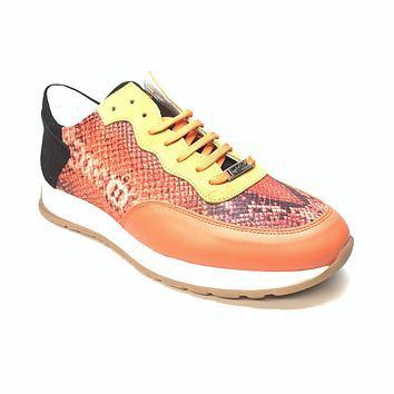 Mauri M728 Fire Flame Python Suede Sneakers