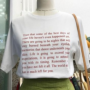 The Best Days Of Your Life Tee