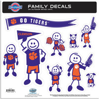 Clemson Tigers Family Decal Set Large