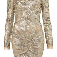 **LIMITED EDITION Embellished Bodycon Dress - Limited Edition Dresses  - Collections